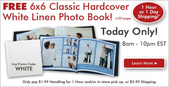 FREE 20 Page Photo Book -June 23