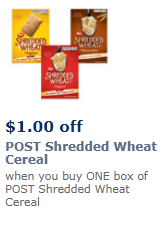 Post Cereal Coupon