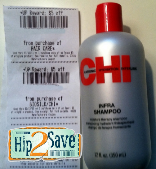 Chi hair products coupons