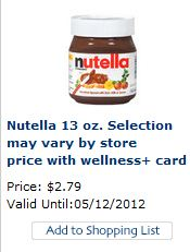 photograph about Nutella Printable Coupon identified as Printable Nutella Coupon! Simply$1.79 at Ceremony Support!!! PRINT Presently!!