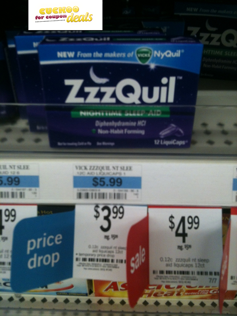 Moneymaker On Zzzquil Free Softsoap And Garnier Hair Care At Kmart