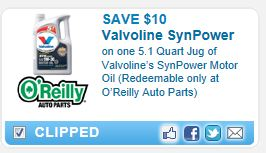 photo about Printable Motor Oil Coupons called $10 OFF Printable Valvoline Engine Oil Coupon!!