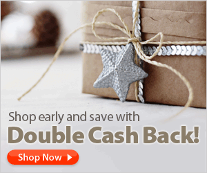 Ebates Double Holiday Cash