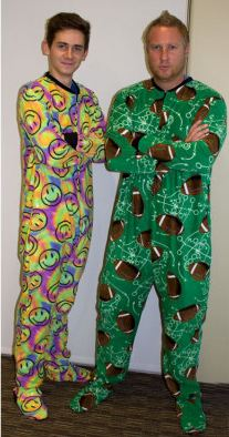 Fun Footed Pajamas Adult & Big Kid Sizes ONLY $10! Teens Love These!