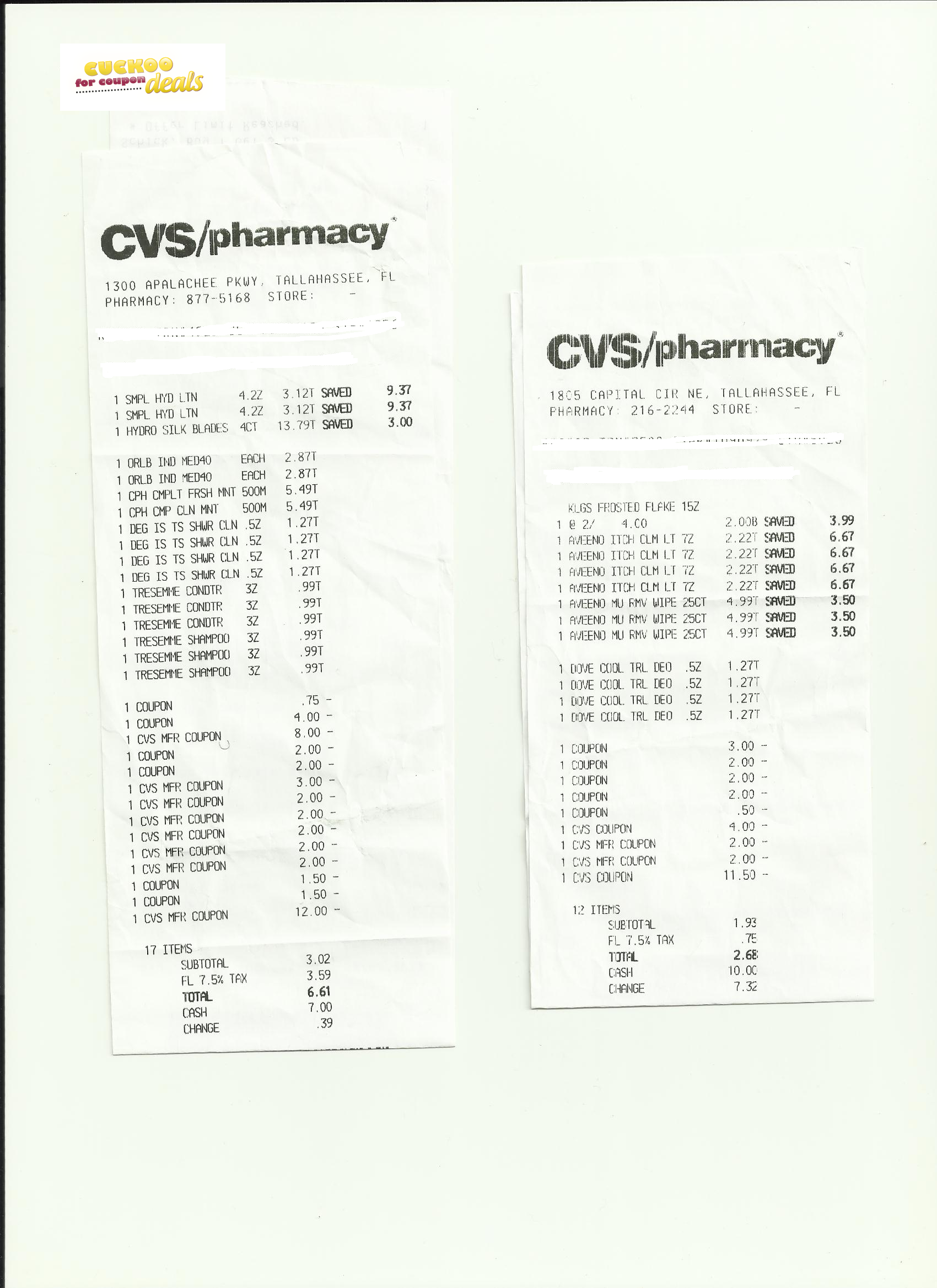 cvs hair  u0026 skin care clearance   lots of freebies