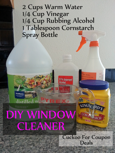 diy window cleaner