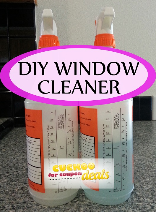 Homemade Window Cleaner Just Like Windex