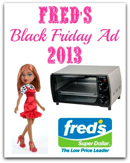 Fred's Black Friday Ad 2013