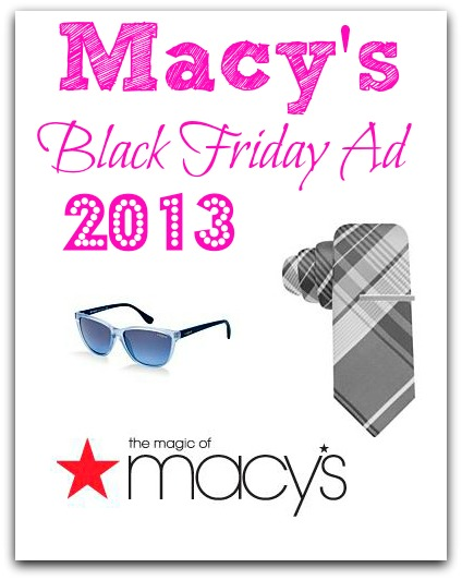 Macy's Black Friday Ad 2013