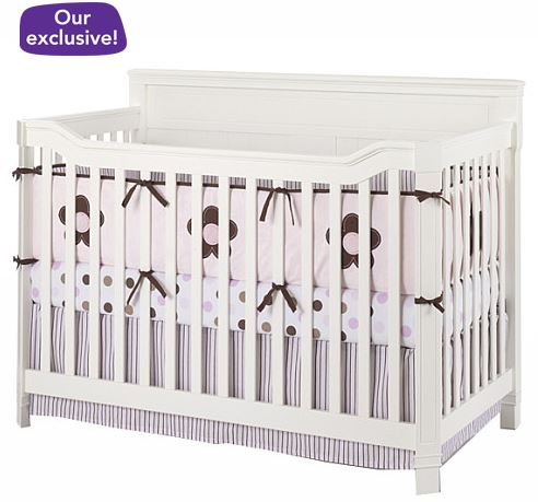 Carter's Casual Convertible Crib - White