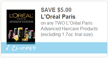 5 off 2 Loreal Advanced