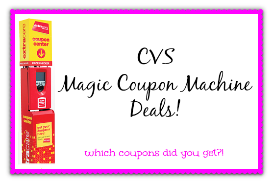Coupon machine