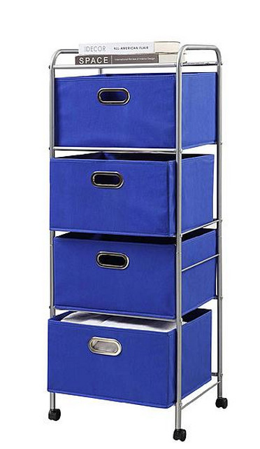 This Deal Comes With The 4 Bins + The Storage Cart That Rolls U2013 $16.99,  Reg. $42.99 + Free Store Pickup (no Shipping Available).