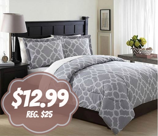 Head Over To Kmart Pick Up Essential Home 3 Piece Microfiber Comforter Sets For Only 1299 Reg 2499 FREE SYWR Max Shipping Or Store