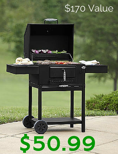 sears: $50.99 bbq pro deluxe charcoal grill! ($170 value)