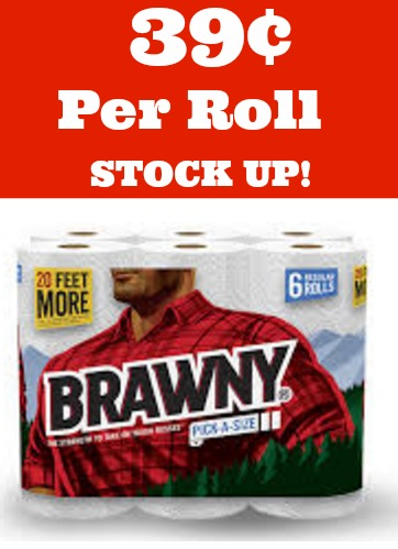 research on brawny paper towels