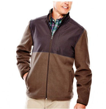 JCPenney: $11.99 St. John's Bay Men's Windblock Fleece Jacket ...