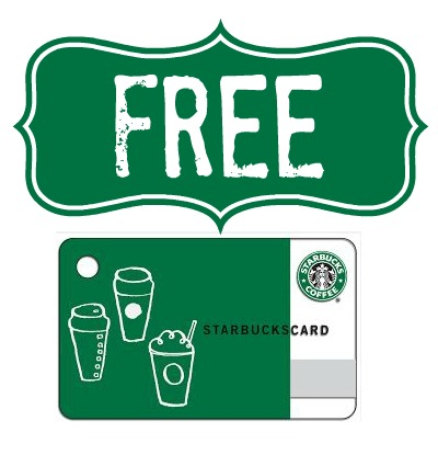 Possible FREE $5 Starbucks Gift Card! 1st 5,000