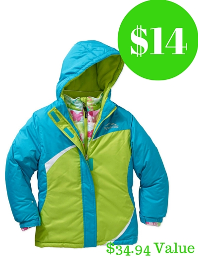 d1df96324 Walmart   14 Mountain Xpedition Girls  3 in 1 Systems Jacket ...