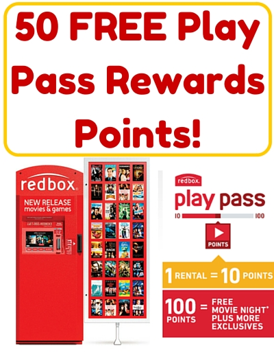 50 FREE Play Pass Rewards Points!