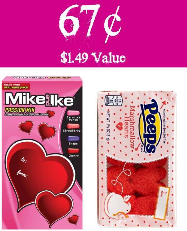 Woo Hoo! Your Sweetie Is Going To Love This! Head Over To Rite Aid Where  They Have Valentineu0027s Peeps U0026 Mike U0026 Ikeu0027s Candies On Sale 2/$2.