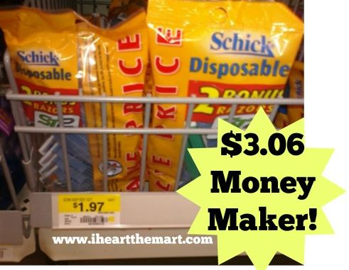 walmart schick heart the mart