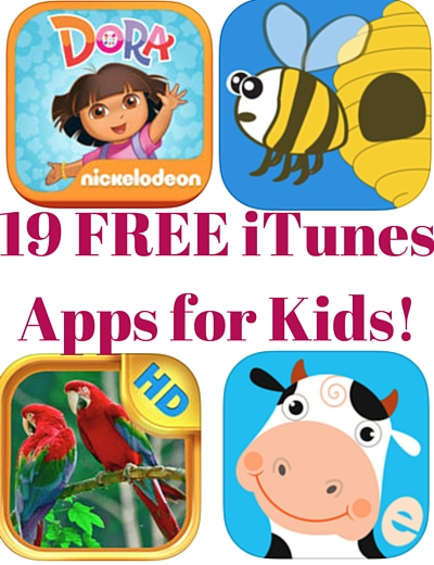 19 FREE iTunes Apps for Kids! (3)