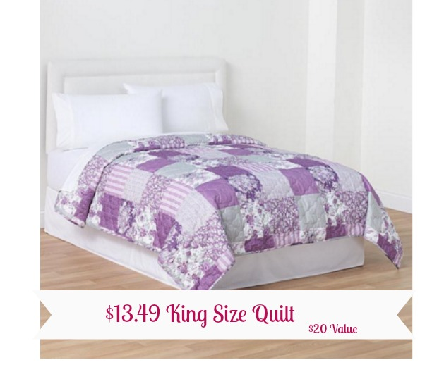 Epic Right now Kmart has select quilts any size buy get off Add of quilts to your cart thru to see these savings