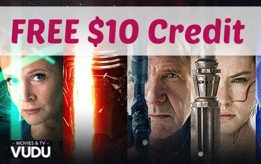 FREE $10 VUDU Movie Credit! Check Your Email