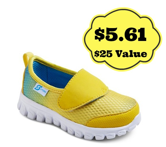 yellow skecher