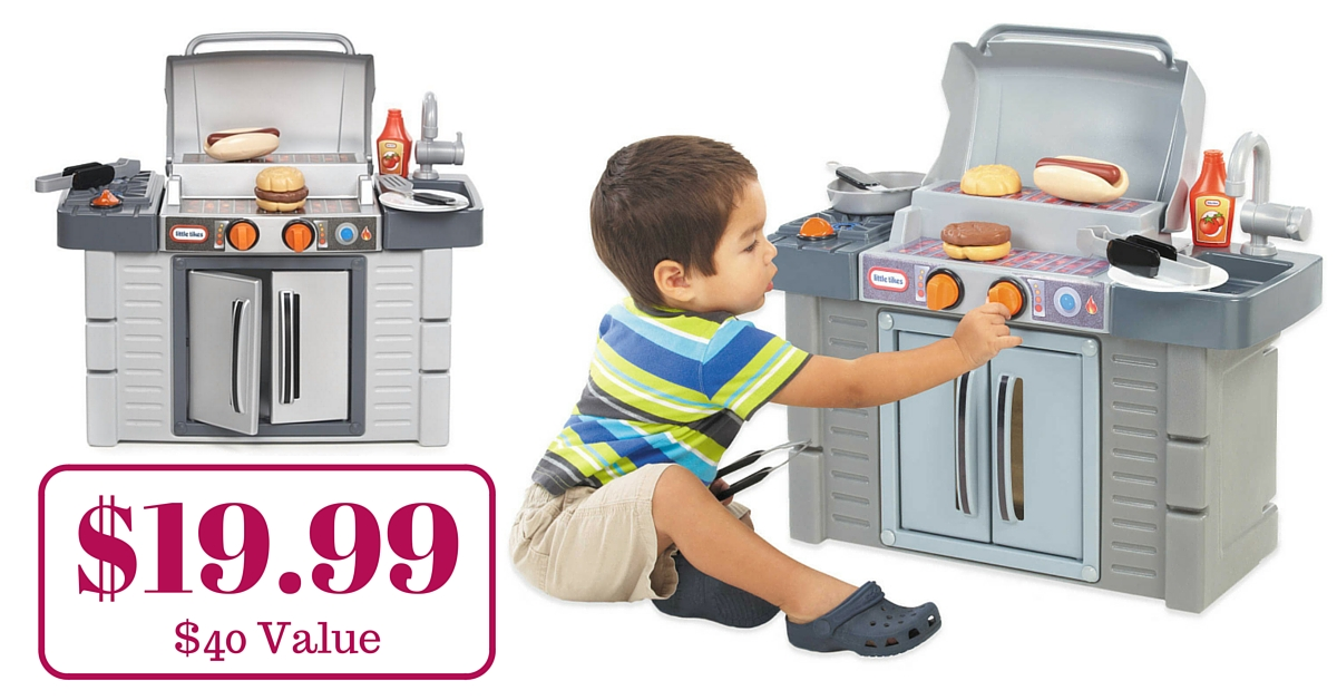 $19.99 Little Tikes Cook \'n Grow BBQ Grill! ($40 Value)