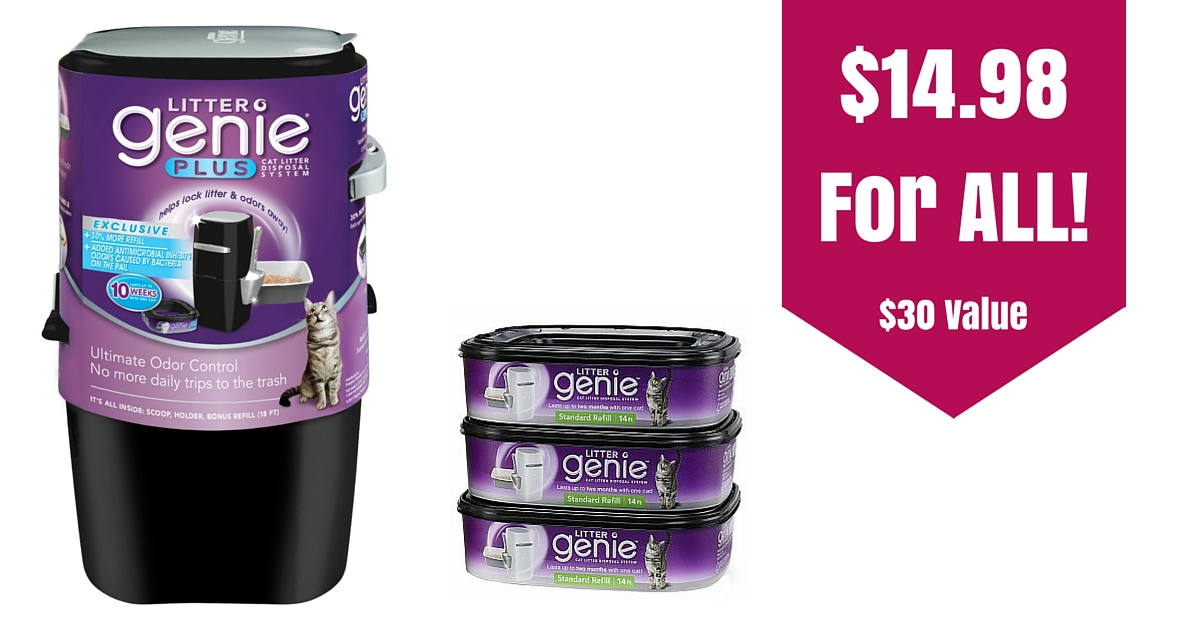 Target 1498 litter genie disposal system 1 refill 30 value 1498 for all fandeluxe Gallery