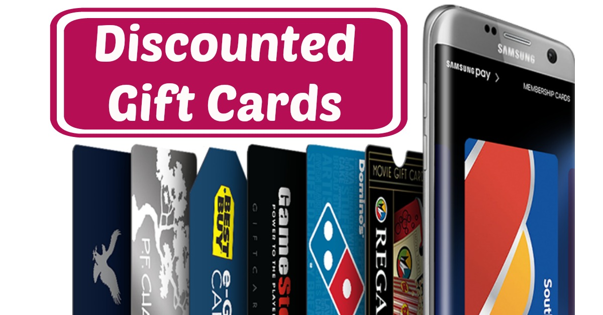 Samsung Pay: 20% off Gift Cards! Dominos, Best Buy, Regal & More!