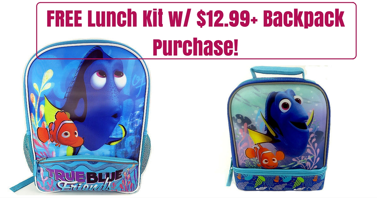 FREE Lunch Kit w%2F $12.99+ Backpack Purchase!