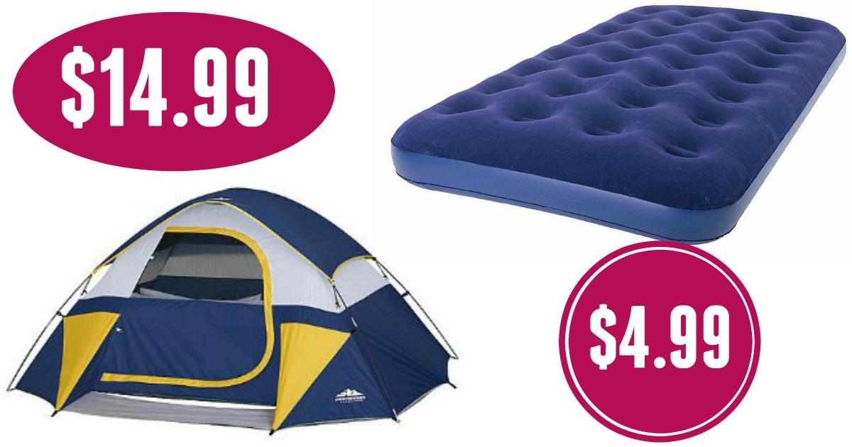 Kmart.com has some CUCKOO deals on tents right now! These are on sale for $24.99 (reg. $29.99) OR $29.99 (reg. $49.99) and giving out $10 in points!  sc 1 st  Cuckoo For Coupon Deals & Kmart.com: $14.99 Dome Tents ($50 Value) u0026 $5 Airbeds ($20 Value)!