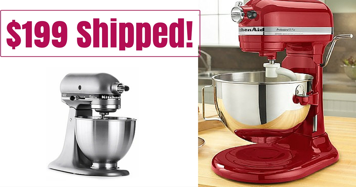 Macy S 199 99 Kitchenaid Mixers Shipped 429 Value