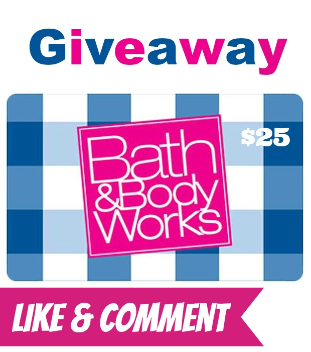 I'm Giving Away $25 Bath and Body Works Gift Cards! WINNER ANNOUNCED
