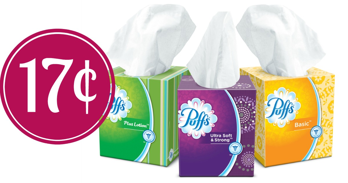 Cvs 017 Puffs Facial Tissue Great For School Supply Lists