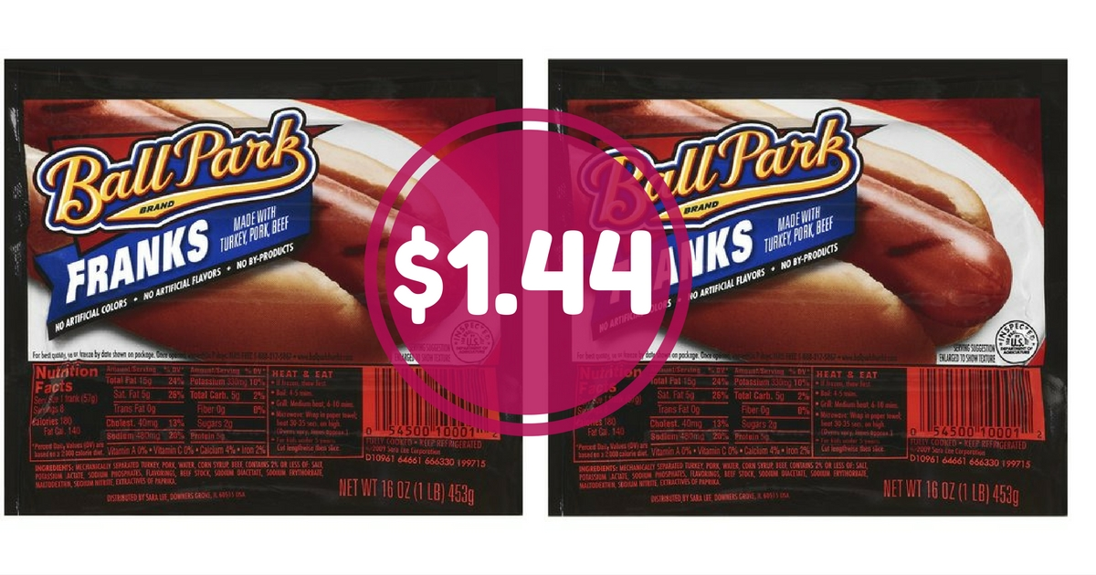 Ball park franks coupons 2018