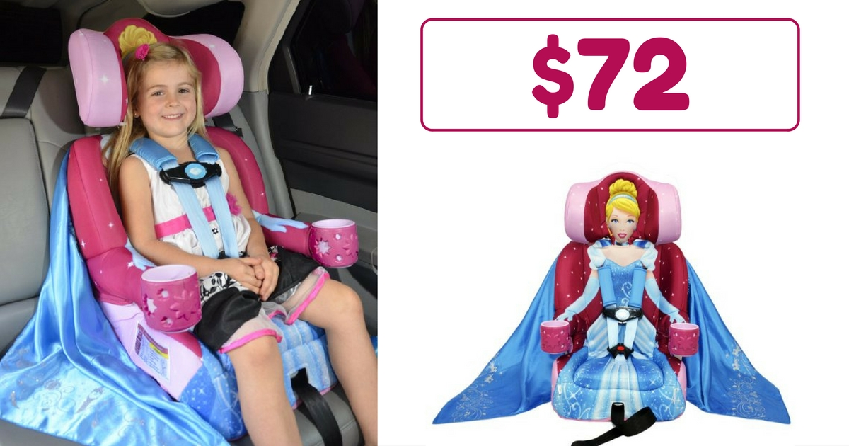 Head Over To Amazon And Snag The Cinderella Disney KidsEmbrace Combination Toddler Harness Booster Car Seat For Only 72 Shipping Is FREE Everyone