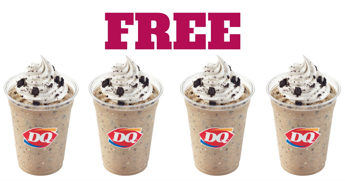 Dairy Queen Free Oreo Frappe Sept 6th Only