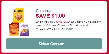 graphic regarding Cheerios Coupons Printable called Walgreens: $0.99 Cheerios Cereal! ($5 Worthy of)