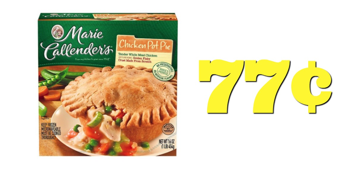 graphic relating to Marie Callender Coupons Printable titled Concentration: $.77 Marie Callenders Foods! ($2.14 Relevance)