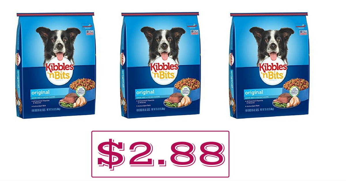 picture relating to Kibbles and Bits Printable Coupons referred to as Walmart: $2.88 Kibbles n Bits Manufacturer Dry Pet dog Foodstuff 3.5lb Bag