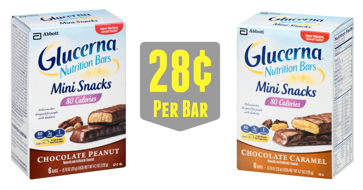 Target 1 72 Glucerna Bar Multipacks 4 39 Value