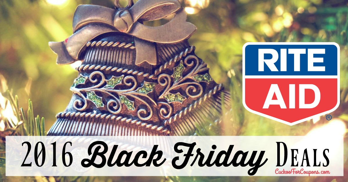 Black friday deals archives page 6 of 13 cuckoo for coupon deals another black friday ad has been released this one is for rite aid there are only 4 pages on this ad my favorite deals are on page 3 at the top fandeluxe Choice Image