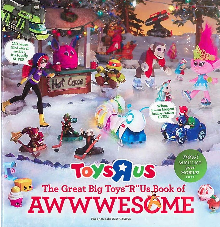 Toys R Us Christmas : Toys r us toy holiday big book of awesome