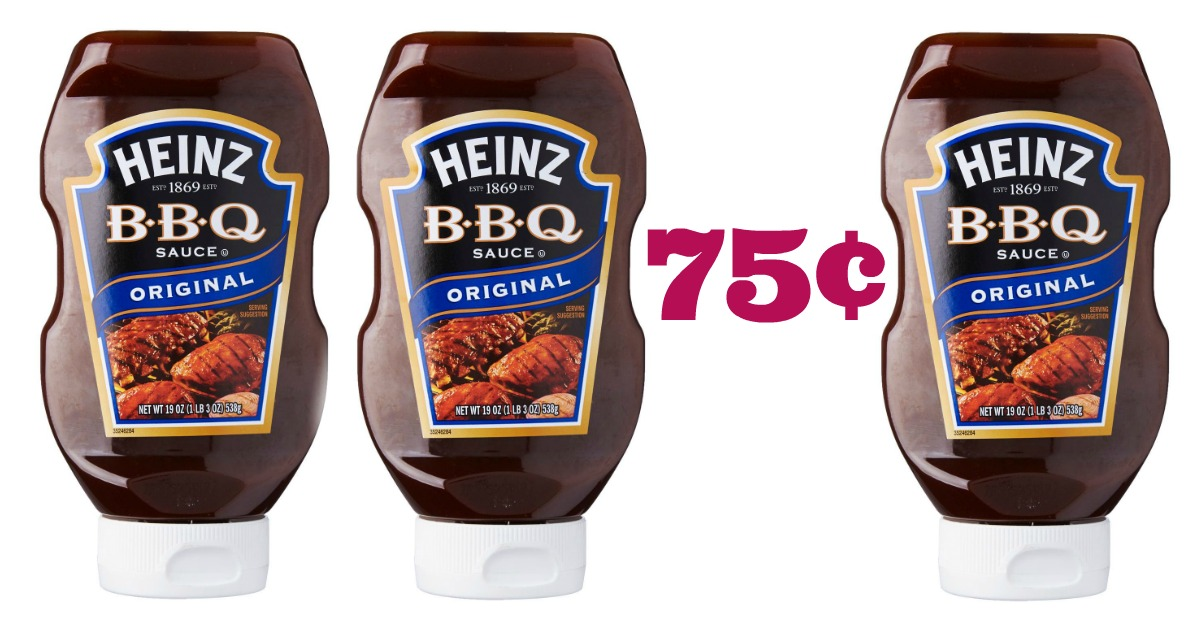 Bbq Sauce For Sale Part - 46: Now Thru 11/26, Target Has Heinz BBQ Sauce On Sale 2/$4 (reg. $2.19). Grab  A Bottle For Just 75¢ With This Deal! You Can Also Get Mustard For Only 14¢!