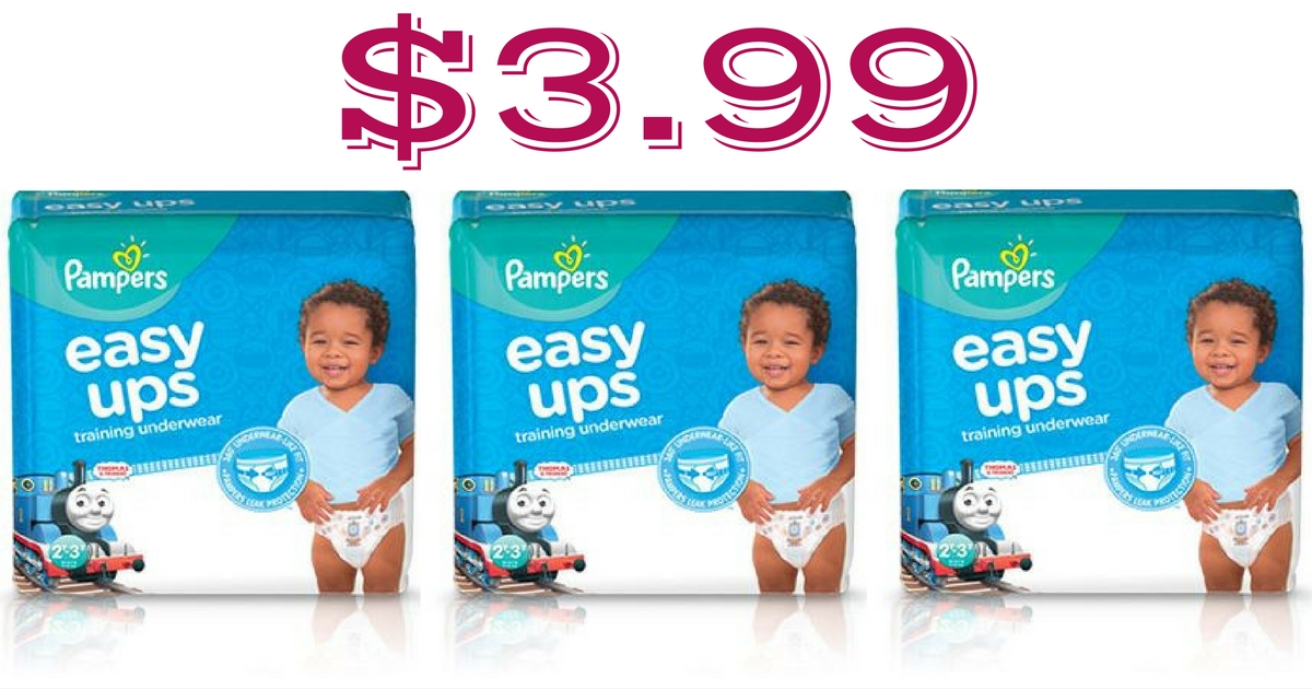 cvs   3 99 pampers easy ups jumbo packs    13 value