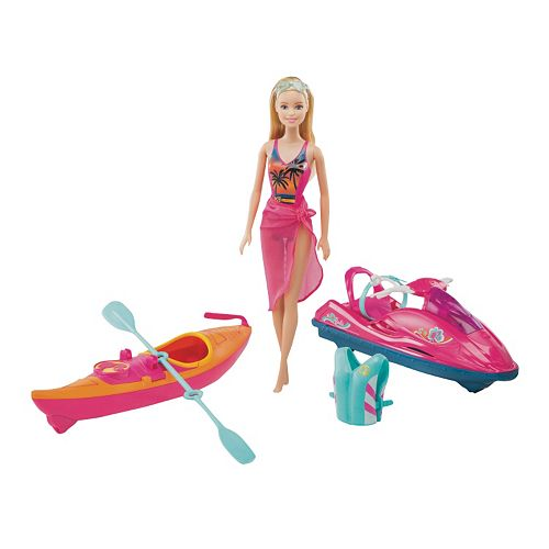 barbie-kayak